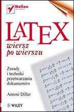 Okładka książki LaTeX. Wiersz po wierszu