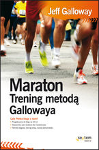 Okładka książki Maraton. Trening metodą Gallowaya