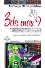 Okładka książki 3ds max 9. Animacja 3D od podstaw