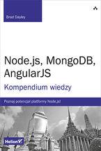 Okładka książki Node.js, MongoDB, AngularJS. Kompendium wiedzy