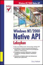 Okładka książki Windows NT/2000 Native API. Leksykon