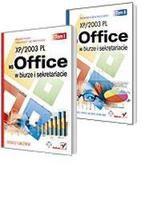 Okładka książki MS Office XP/2003 PL w biurze i sekretariacie. Tom I i II