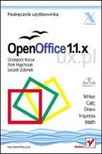 Okładka książki OpenOffice 1.1.x UX.PL