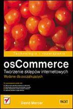 Okładka książki osCommerce. Tworzenie sklepów internetowych. Wydanie dla początkujących