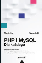 Okładka książki PHP i MySQL. Dla każdego. Wydanie III