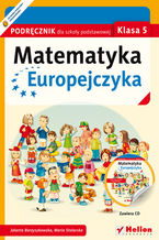 Okładka książki Matematyka Europejczyka. Podręcznik dla szkoły podstawowej. Klasa 5