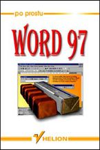 Okładka książki Po prostu Word 97