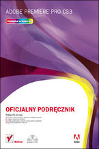 Okładka książki Adobe Premiere Pro CS3. Oficjalny podręcznik