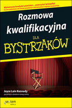 Okładka książki Rozmowa kwalifikacyjna dla bystrzaków. Wydanie III