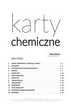Karty chemiczne