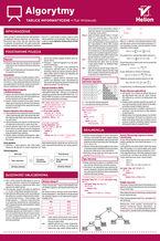 Okładka książki Tablice informatyczne. Algorytmy