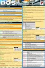 Okładka książki DOS. Tablice informatyczne