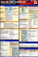 Okładka książki Tablice informatyczne. Flash MX 2004 ActionScript