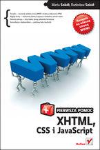 Okładka książki XHTML, CSS i JavaScript. Pierwsza pomoc