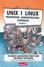 Okładka książki Unix i Linux. Przewodnik administratora systemów. Wydanie V