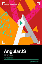 Okładka książki AngularJS. Kurs video. Czysty kod