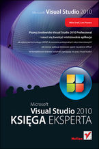 Okładka książki Microsoft Visual Studio 2010. Księga eksperta