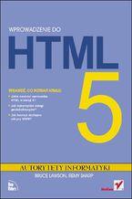 Okładka książki Wprowadzenie do HTML5. Autorytety Informatyki