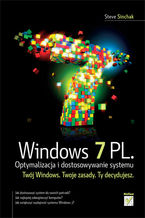 Okładka książki Windows 7 PL. Optymalizacja i dostosowywanie systemu