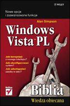 Okładka książki Windows Vista PL. Biblia