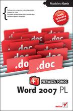 Okładka książki Word 2007 PL. Pierwsza pomoc