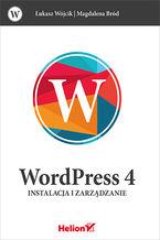 Okładka książki WordPress 4. Instalacja i zarządzanie