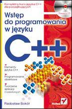 Okładka książki Wstęp do programowania w języku C++