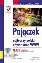 Okładka książki Pajączek. Najlepszy polski edytor stron WWW