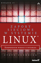 Okładka książki Zapory sieciowe w systemie Linux. Kompendium wiedzy o nftables. Wydanie IV