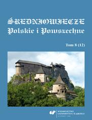 Średniowiecze Polskie i Powszechne. T. 8 (12)