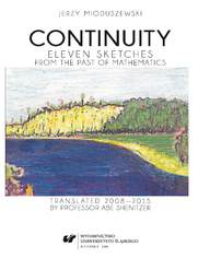 Continuity. Eleven sketches from the past of Mathematics