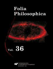 Folia Philosophica. Vol. 36