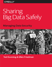 Sharing Big Data Safely. Managing Data Security
