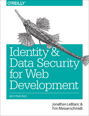 Identity and Data Security for Web Development. Best Practices