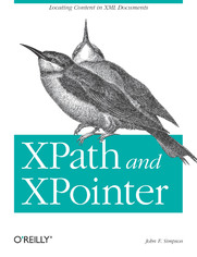 XPath and XPointer. Locating Content in XML Documents