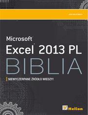 Excel 2013 PL. Biblia