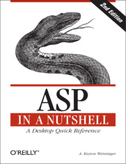 ASP in a Nutshell. A Desktop Quick Reference. 2nd Edition