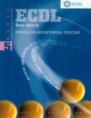 Ok�adka ksi��ki ECDL Modu� 5. Bazy danych