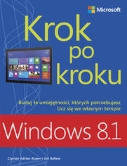 Ok�adka ksi��ki Windows 8.1 Krok po kroku