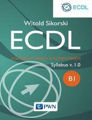 Ok�adka ksi��ki ECDL Podstawy pracy z komputerem. Modu� B1