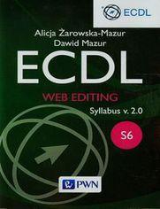 Ok�adka ksi��ki ECDL Web editing Syllabus v. 2.0. S6