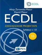 Ok�adka ksi��ki ECDL S5. Zarz�dzanie projektami