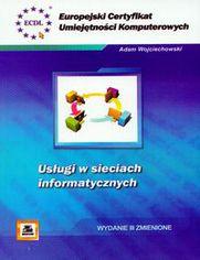 Ok�adka ksi��ki ECUK Us�ugi w sieciach informatycznych