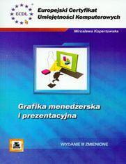 Ok�adka ksi��ki ECUK Grafika mened�erska i prezentacyjna