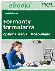 Formanty formularza - optymalizacja i stosowanie