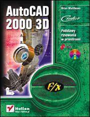 Ok�adka ksi��ki AutoCAD 2000 3D f/x