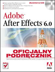 Ok�adka ksi��ki Adobe After Effects 6.0. Oficjalny podr�cznik