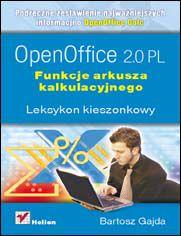 OpenOffice 2.0 PL. Funkcje arkusza kalkulacyjnego. Leksykon kieszonkowy