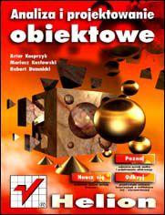 Ok�adka ksi��ki Analiza i projektowanie obiektowe
