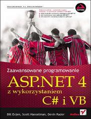 Ok�adka ksi��ki ASP.NET 4 z wykorzystaniem C# i VB. Zaawansowane programowanie